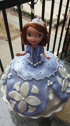 Birthday Cakes - Sophia the First bundt cake