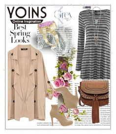 """Yoins.com - contest"" by sweet18569 ❤ liked on Polyvore featuring H&M, women's clothing, women, female, woman, misses, juniors, yoins and yoinscollection"