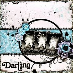 DT project by Rae Moses using the new April kit, Tiffany's.   Join us for our blog hop 12/12-13!  swirlydoos.com