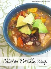 chicken tortilla soup 3 Chicken Tortilla Soup