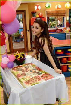 ariana grande sam and cat photos | & Ariana Grande: Birthday Cake on 'Sam & Cat' Set! | ariana grande ...