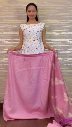 Tie Dye Nails, House Outside Design, Hijab Cartoon, Crochet World, Pink Saree, Blouse Outfit, Jean Skirt, Shibori, Indian Wear