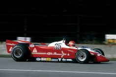 Bruno Giacomelli, Alfa Romeo 179, #35, (finished 17th) French GP, Dijon, 1979.