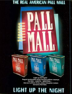 British American Tobacco, Pall Mall, Ads, Collection, Strong
