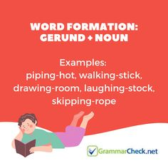Word Formation: Gerund + Noun Word Formation, Proofreader, Grammar, Spelling, Vocabulary, Texts, Words, Captions, Vocabulary Words