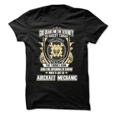 Limited Edition AIRCRAFT MECHANIC Tees! - #baseball tee #tshirt jeans. ACT QUICKLY => https://www.sunfrog.com/No-Category/Limited-Edition-AIRCRAFT-MECHANIC-Tees-Black-33009490-Guys.html?68278