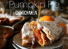 ~Pumpkin Pie Chimichangas!