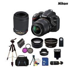 Nikon 24.2MP Digital SLR Camera with Accessories $784.00