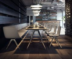 The A-Table is the delicate and perfectly shaped folding table which meets the highest demands. Contract Furniture, Office Furniture, Furniture Design, Meeting Table, Lounge, Co Working, Restaurant Design, Contemporary, Modern