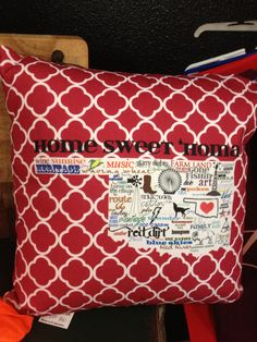 Love these new pillows by LOVEleigh and now found at Serendipity Market at 917 E Danforth