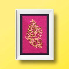"""Lettering y demás """"marovillas"""". Los proyectos de Marova, exalumna del Máster de Diseño Editorial: Medios Impresos y Digitales - IED Master"""