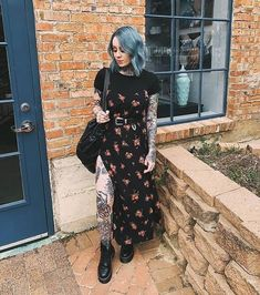 Moda Outfits, Edgy Outfits, Grunge Outfits, Fall Outfits, Cute Outfits, Fashion Outfits, Hijab Fashion, Women's Fashion, Fashion Tips