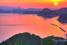 Sunset at #Awajishima2 - Japan by kurokojpn, via Flickr
