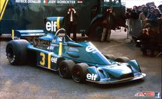 Tyrrell 6-wheeler that I saw run at the U.S GP at Watkins Glen