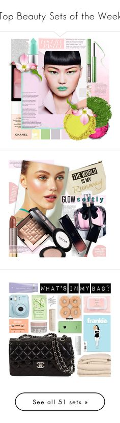 """Top Beauty Sets of the Week"" by polyvore ❤ liked on Polyvore featuring beauty, Givenchy, MAC Cosmetics, Illamasqua, Chanel, Sephora Collection, NYX, polyvoreditorial, licethfashion and New Look"