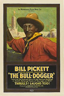 Giclee Print: Bill Pickett the Bull-Dogger Wall Art : Film Meg, Wild West Show, We Movie, Silent Film, African American History, Vintage Movies, Vintage Ads, Vintage Prints, Vintage Posters
