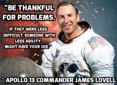 NASA Astronaut Jim Lovell