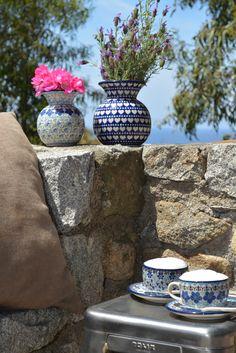 Bunzlau Castle || Netherlands Polishpottery #pottery #tableware #home #bunzlau #BunzlauCastle #Stoneware #Bluekitchen #polishblue #Bunzlauservies #kitchen #Italy #textile #coffee #CappuccinoBunzlau Castle  De magnolia in Rijssen en Nijverdal  Www.demagnolia.nl