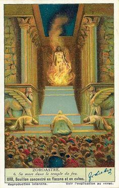 Zoroastrian Symbol Supernatural Religion: This ...