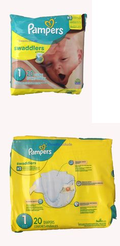 Disposable Diapers 15559: New Pampers Swaddlers Diapers Size 1 (240 Count) -> BUY IT NOW ONLY: $45.99 on eBay!