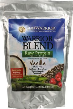 The BEST Protein Powder on the market hands down is this= Sun Warrior. It can't be beat. I also add it to everything I can; Oatmeal, Smoothies, Pancakes, Treats, Yogurt, etc. Great for pre and post workouts!
