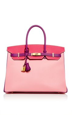 Hermès 35cm Rose Confetti, Anemone, & Rose Tyrien Epsom Special Order Birkin by HERITAGE AUCTIONS SPECIAL COLLECTION for Preorder on Moda Operandi