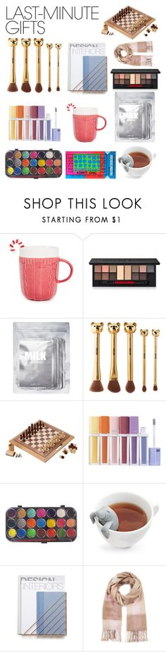 """""""Inspired by real last minute gifts I bought in real life"""" by clashgorbachov ❤ liked on Polyvore featuring Smashbox, Lapcos, Sephora Collection, Fred, Andy Warhol, Miss Selfridge, contestentry and polyPresents"""