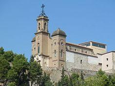 Santuario del Santo Cristo -Balaguer (Lleida). El 3 de noviembre de 1871 allí se encontró con el P. Manyanet. El 30-4-1882 recibió allí la dispensa de votos #Encarnación Colomina #1877-1882