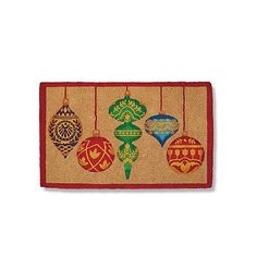 "Ornament Coco Entry Mat - 36"" X 72"" - Frontgate"