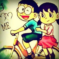 Download Nobita Shizuka Wallpapers To Your Cell Phone Love Epic