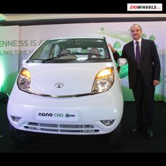 Tata has launched the green version of the Nano, the Nano Emax that is CNG fuelled. There are two variants priced at Rs.2.4 lakh and Rs.2.65 lakh.