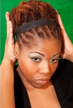 Remarkable 1000 Images About Locks On Pinterest Locs Dreadlock Styles And Short Hairstyles For Black Women Fulllsitofus