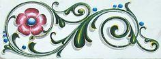 Imaginarium: Elvio Gervasi y su Porteño Filetear Painted Wardrobe, German Folk, Deco Paint, Wood Carving Designs, 3d Letters, One Stroke Painting, Decoupage Paper, Illuminated Letters, Painting Patterns
