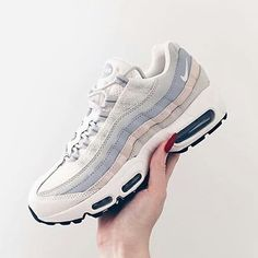 Adidas Women Shoes - Sneakers femme - Nike Air Max 95 Pic by brooke - We reveal the news in sneakers for spring summer 2017 Nike Design, Cute Shoes, Me Too Shoes, Women's Shoes, Roshe Shoes, Adidas Boost, Basket 2017, Look Fashion, Fashion Shoes