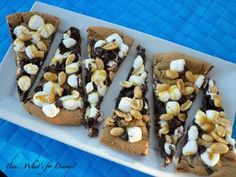 Rocky Road Pizza Cookie