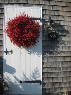 Real Maine Winterberry  Wreath  Big and Beautiful by scarletsmile, $145.00