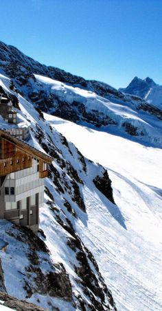 Jungfraujoch Station, Switzerland repinned by www.gorara.com
