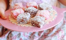 Party Lamingtons Recipe - Party food