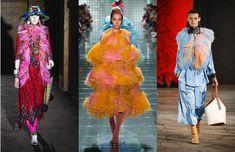 Les tendances mode de la fashion week saison printemps-été 2019 20 Catwalk Fashion, Fashion Week, Fashion Trends, Women's Fashion, Vogue Paris, Fyre Festival, Glamour, Mixing Prints, Female Form