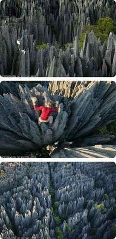 The Tsingy de Bemaraha National Park is a national park located in Melaky Region, Madagascar.