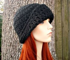 Instant Download Crochet Pattern  Cloche Hat Pattern  by pixiebell
