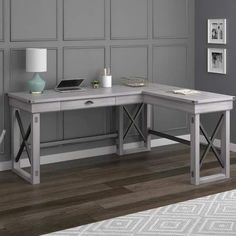 Shop target for corner desk you will love at great low prices free laurel foundry modern farmhouse gladstone l shape standing desk gumiabroncs Choice Image