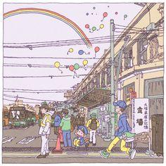 Tokyo 100 views(36〜40) on Behance