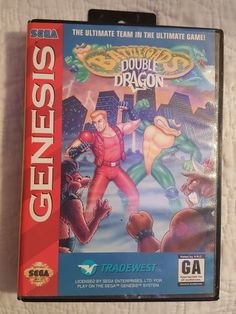 220301364ac BATTLETOADS DOUBLE DRAGON ~ Sega Genesis CIB ~ Authentic   Personal  Collection. Retro VideosRetro Video GamesSega ...
