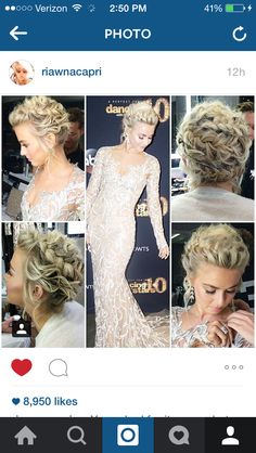 Julianne Hough styled by Riawna Capri #hairstylest
