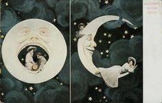 Moon and stars, 1920-30s