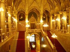Hungarian Parliament ~ Budapest, Hungary  http://americanhomestead.blogspot.com