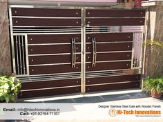 Designer Steel Gate (Cod e Gate Wall Design, Home Gate Design, Grill Gate Design, House Main Gates Design, Steel Gate Design, Front Gate Design, Main Door Design, House Front Design, Railing Design