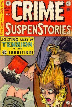 Cover for Crime SuspenStories (EC, 1950 series) #22