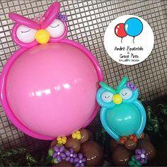 #baloes #balloons #andrefigueiredo #gracepires #coruja